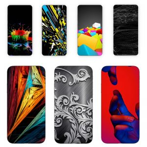 Huse Print 360 Grade Abstract si Culori