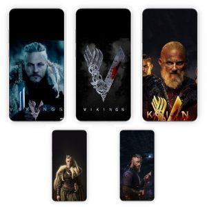 Huse Print Xiaomi Vikings