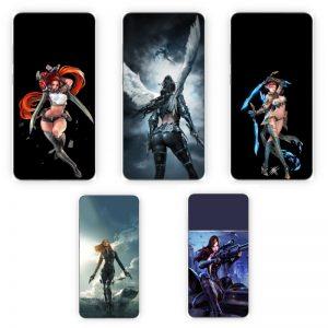 Huse Print Xiaomi Warrior Girl