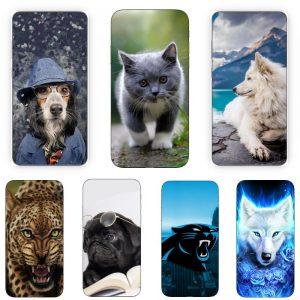 Huse Print 360 Grade cu Animale
