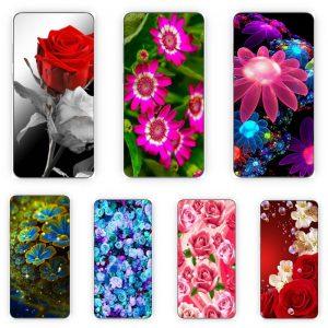 Huse Print 360 Grade cu Flori